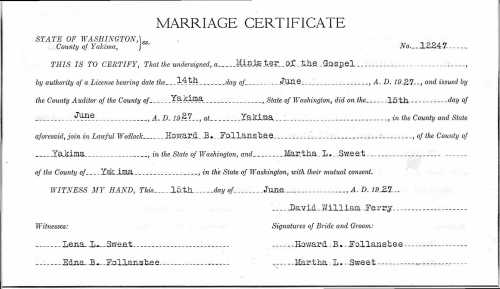 howard b marriage
